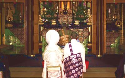 仏前結婚式01