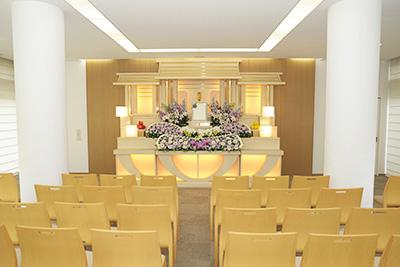 古江セレモニーホール 中式場正面